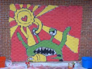 Kindezi Mural