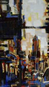 """White Washed Side Walks"" 24"" x 50"" est. 2006"