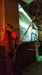 """Shooting Gallery"" installation, video ""Moving Targets"" 10 mins"