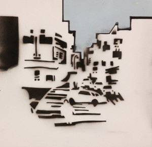 """city 4 work"" Works on Paper"